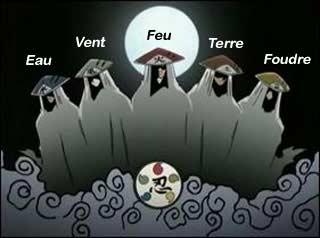 Les maîtres ninjas